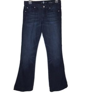 """7 For All Mankind Bling """"A"""" Pocket Size 27"""
